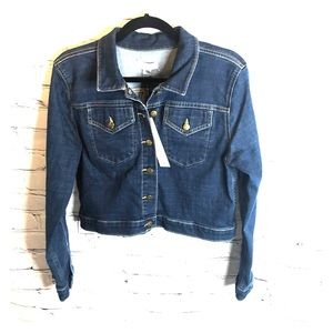 NWT Calvin Klein Blue Jean Jacket Size Medium
